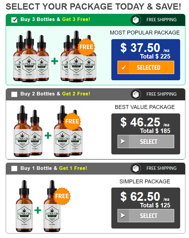 Ultra CBD Extract price