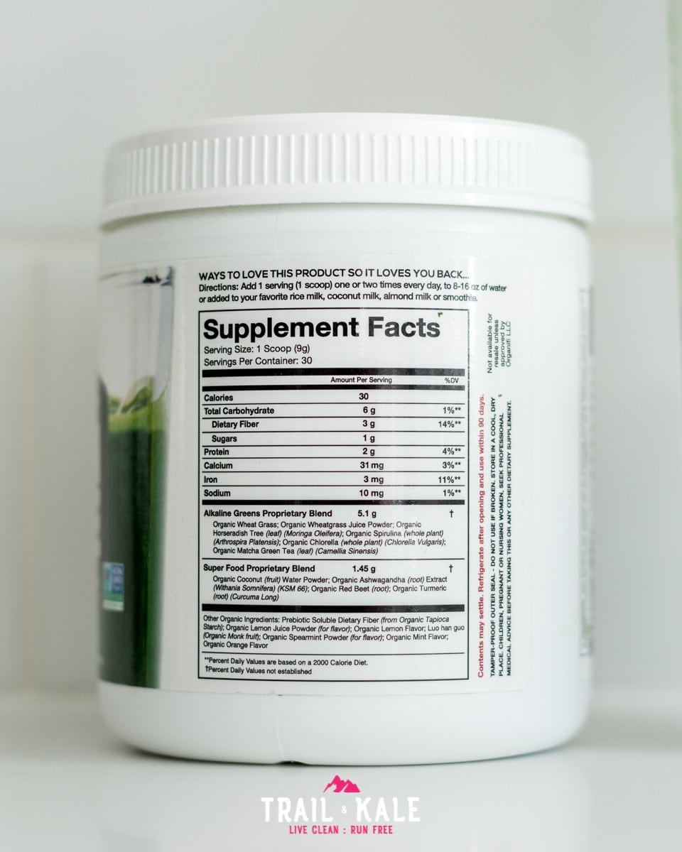 Organifi Green Juice Canada