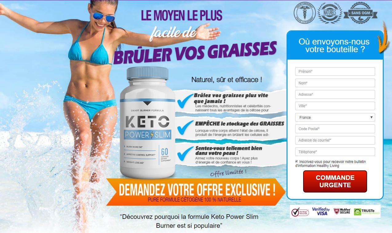 Keto Power Slim France