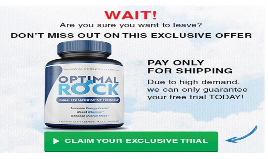 Optimal Rock Pills