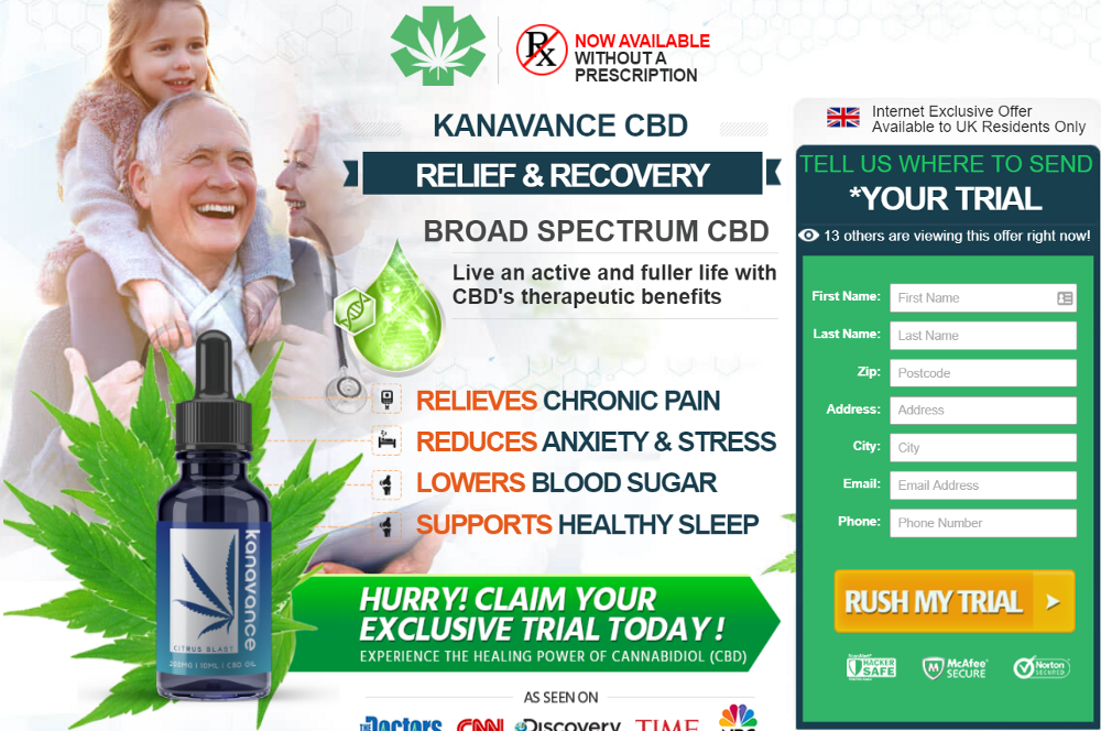 KANAVANCE CBD Oil UK