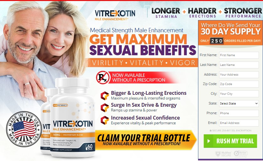 Vitrexotin Male Enhancement