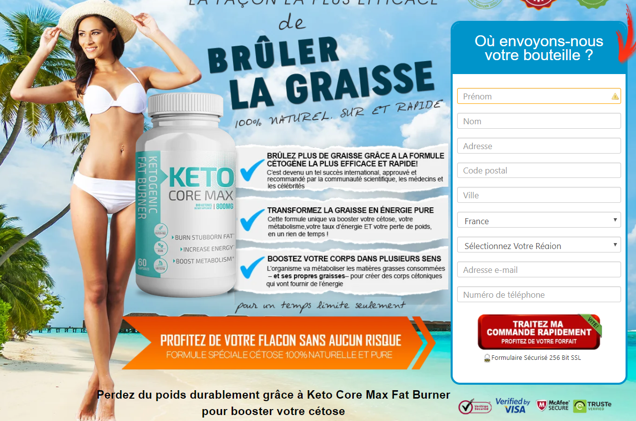 Keto Core Max FR