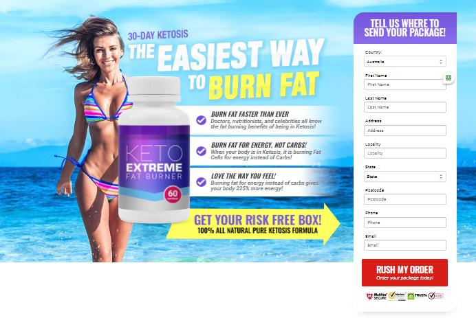 Keto Extreme Fat Burner Australia
