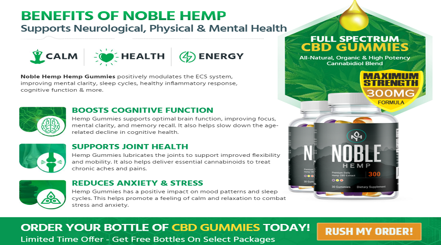 Noble Hemp Gummies