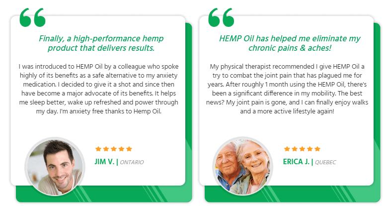 Hemp Oil Tincture reviews