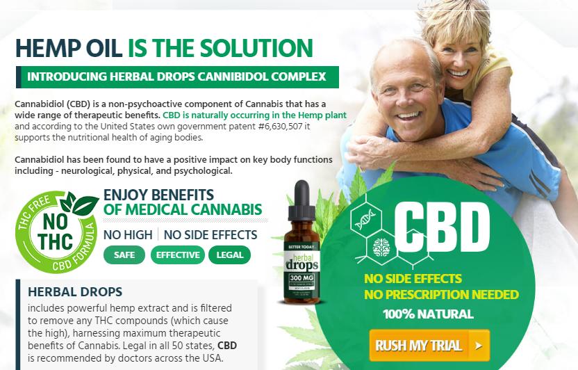 Herbal Drops CBD Oil